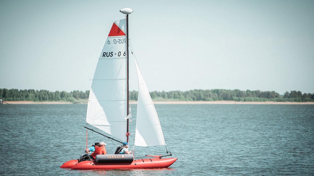 Фотоотчёт. Фестиваль парусного спорта для людей с ограниченными возможностями на озере Андреевское