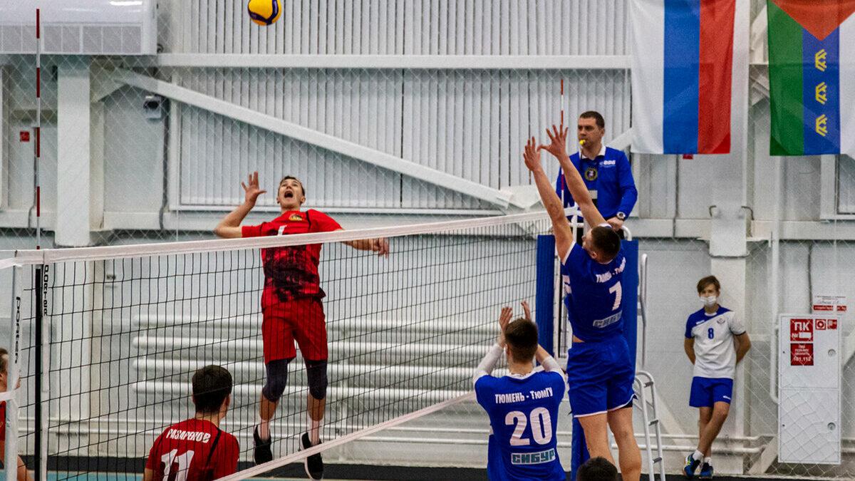 Волейбольный клуб «Тюмень» готовится к новому сезону