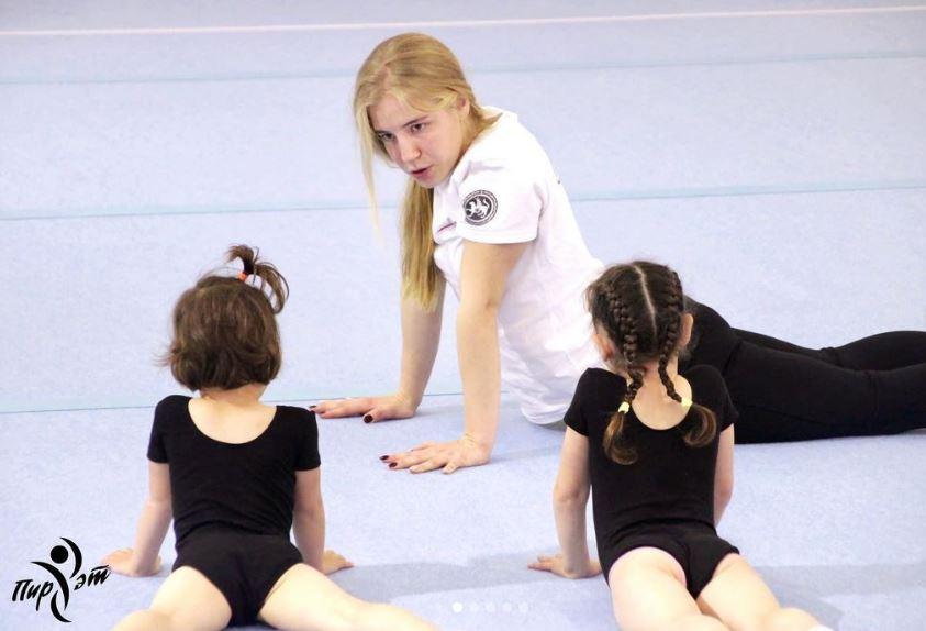 Спортивная гимнастика внутри и снаружи