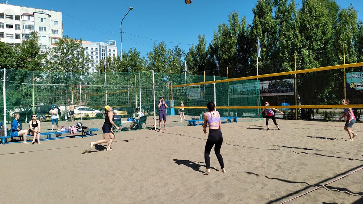 Солнце, воздух и…пляжный волейбол