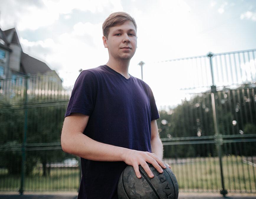 Максим, 19 лет. Спорт в каждом