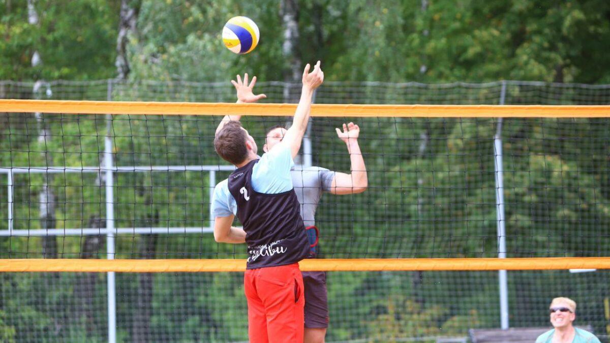 Волейбол в День молодежи