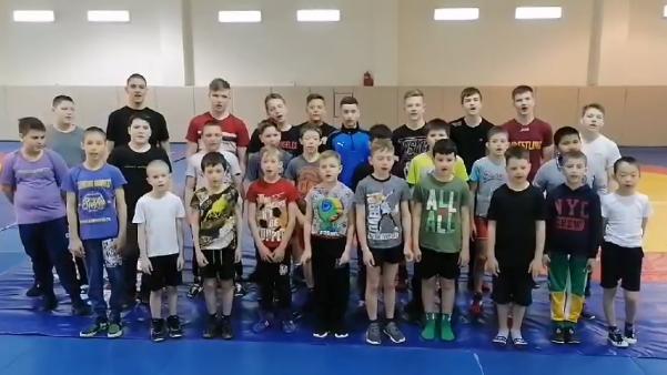 Спортсмены школы «Прибой» солидарны с космонавтами