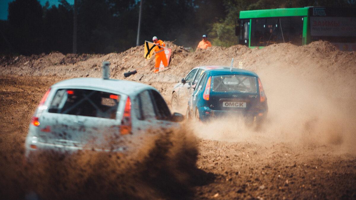 В Тюмени прошел этап чемпионата России по автокроссу