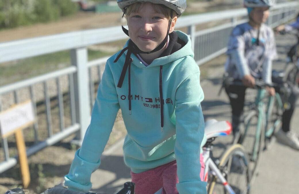 Велоспорт. Заезд по городским улицам…