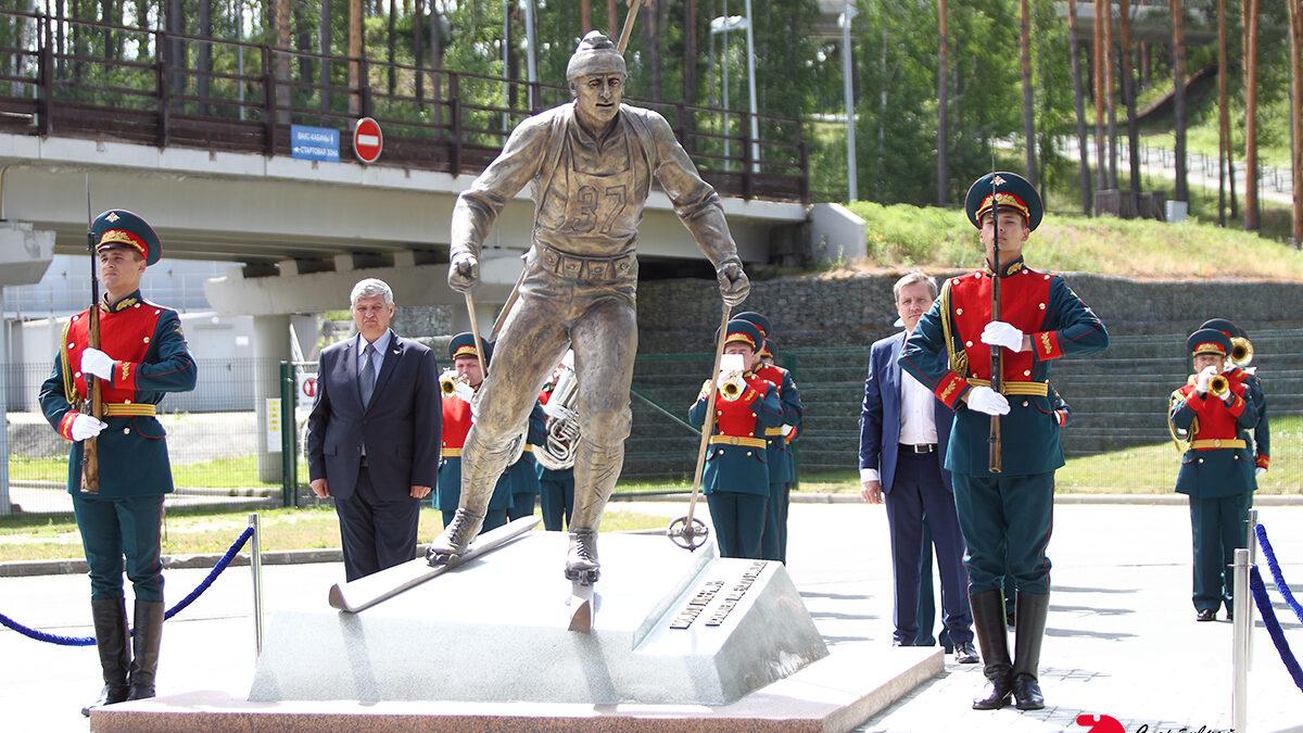 Открытие памятника Либерману
