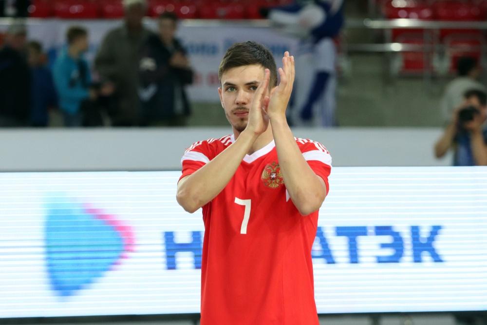 Милованов, Антошкин и Абрамович в составе сборной