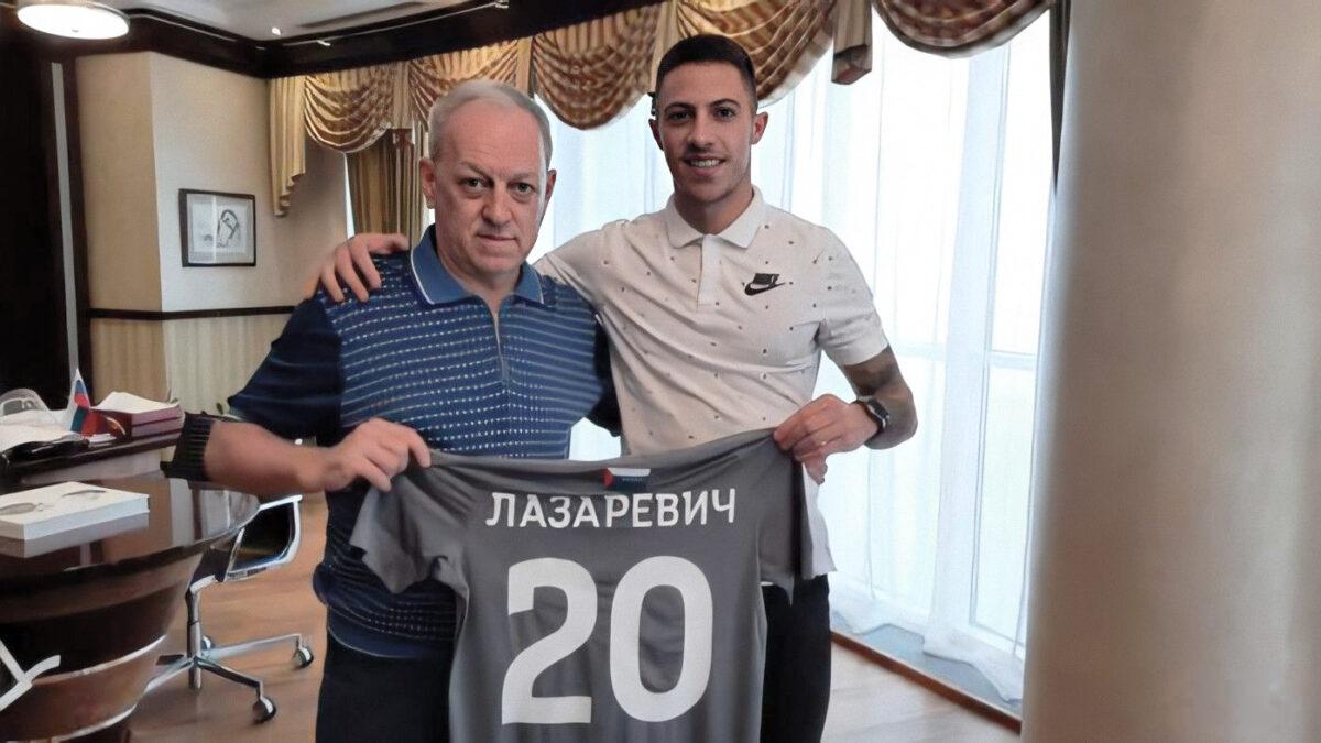 Игрок сборной Сербии Лазаревич – новичок МФК «Тюмень»