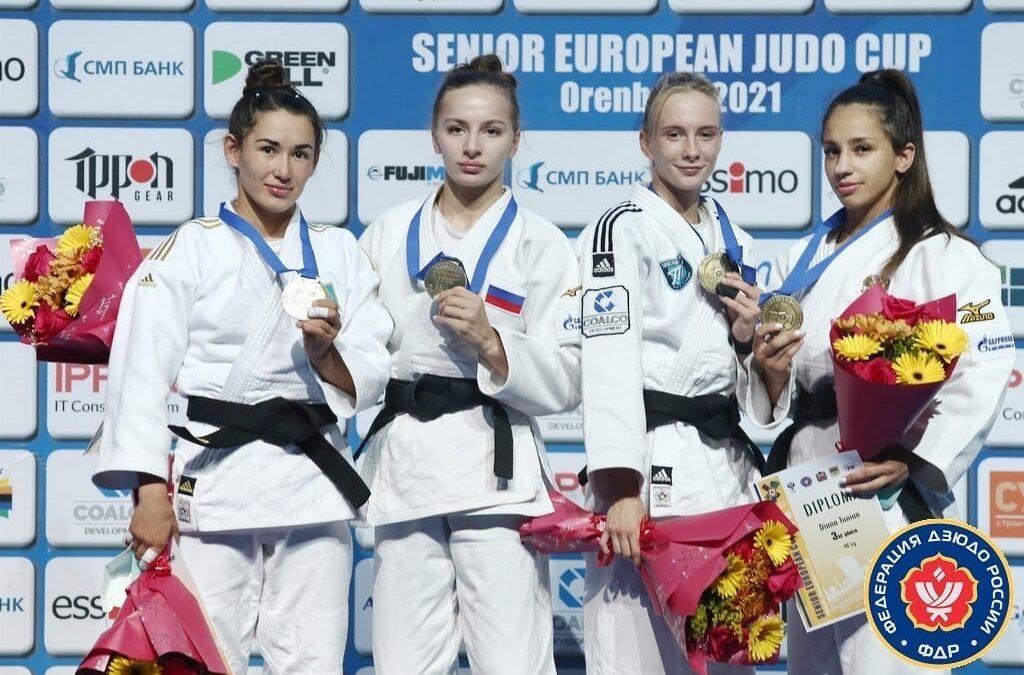 Две медали тюменских дзюдоисток на Кубке Европы