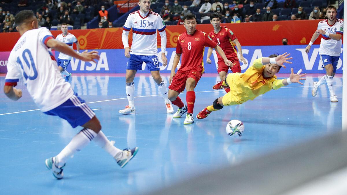 Россия и Марокко – первый четвертьфиналисты чемпионат мира по футзалу