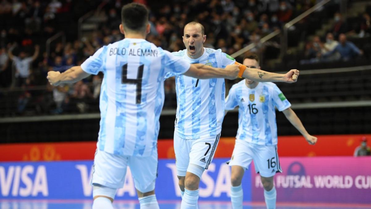 Аргентина вновь в финале чемпионата мира по футзалу