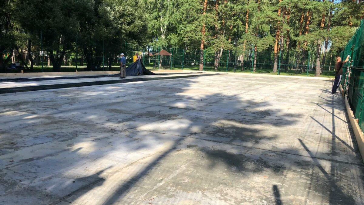 Первый скейт парк в Заводоуковске